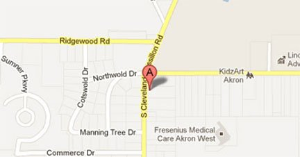 Click on map to find us