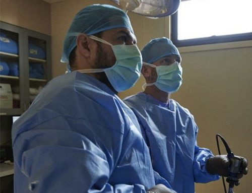 Dr. Daye Performing Surgery on Gazelle at Akron Zoo